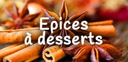 Epices pour les desserts