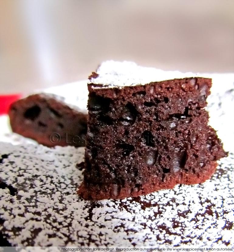 Gâteau choco-coco et gingembre