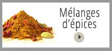 acheter des mélanges d'épices