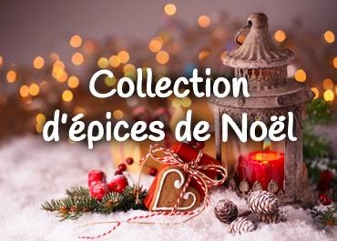 Notre collection d'épices de Noël...
