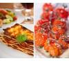 Pâtes, tomates, pizzas - Exemple de cuisine italienne