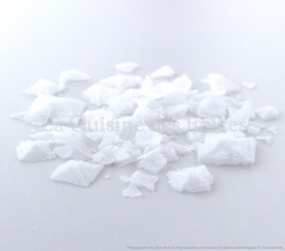 Sel blanc Pyramide, de Chypre