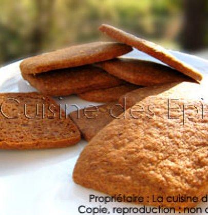 Petits biscuits croquants aux épices façon speculoos