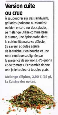 La Cuisine des Epices dans Régal