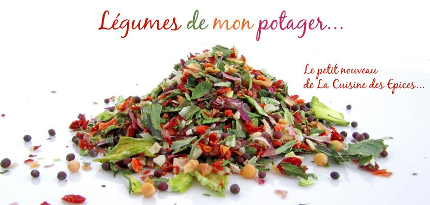 Mélange d'épices : Légumes de mon potager