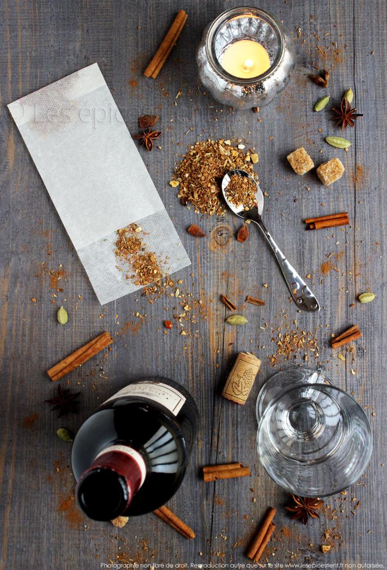 Utilisation des épices pour Vin de Noël